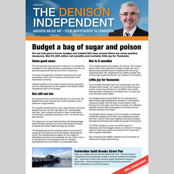 The Denison Independent June 2015