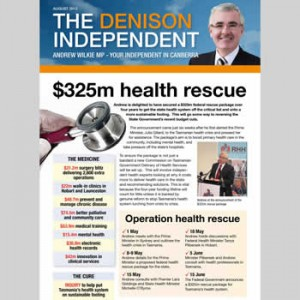 The Denison Independent August 2012