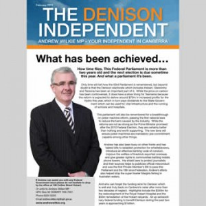 The Denison Independent February 2013