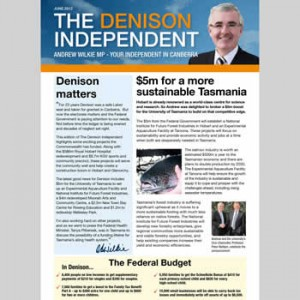 The Denison Independent June 2012