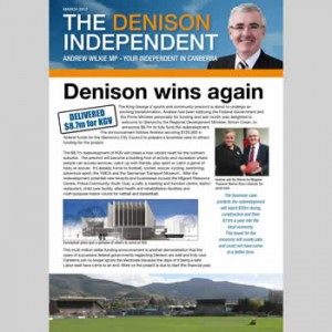 The Denison Independent March 2012