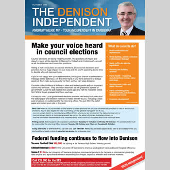 The Denison Independent October 2014