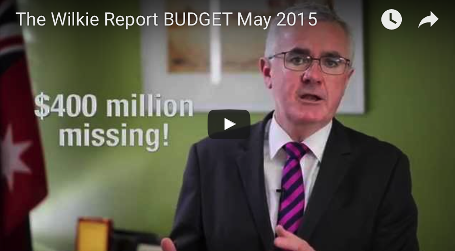 The Wilkie Report May 2015