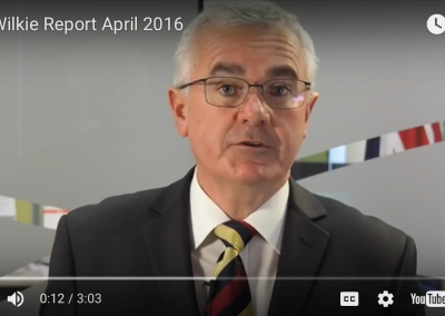 The Wilkie Report April 2016